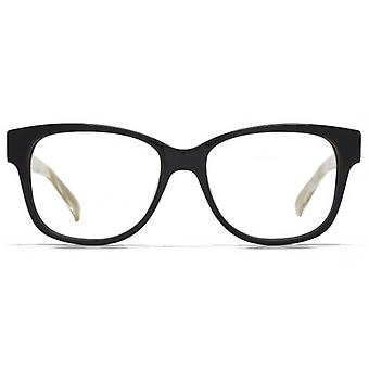 Carvela Large Square Glasses In Black