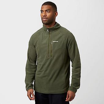 Green Craghoppers Men's Newlyn Half Zip Fleece