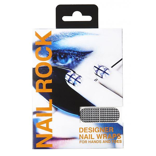 Nail Rock Nail Wraps Nail Rock Studded Cover Nail Wraps