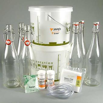 Sparkling Wine Elderflower Starter Kit - 12 bouteille
