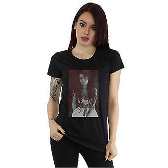 Amy Winehouse kvinders tilbage til sort kridt bord T-Shirt