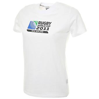 T-shirt CCC Rugby World Cup 2011 femminile [bianco]