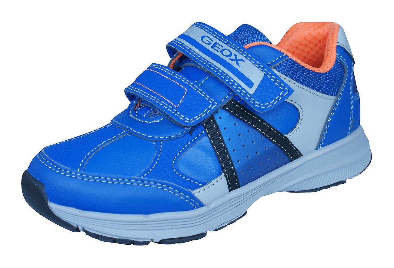 Geox J Top Fly BB Boys Trainers / Shoes - Royal Blue
