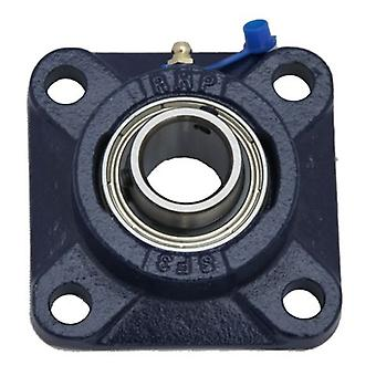 SF40 RHP SELF LUBE CAST IRON FOUR BOLT SQUARE FLANGE BEARING UNIT SF