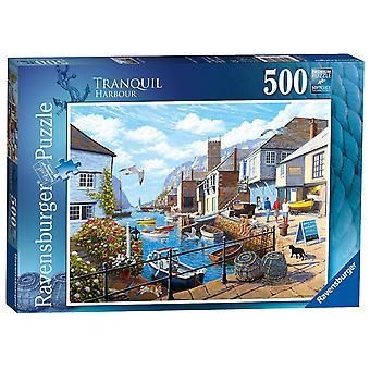 Ravensburger Tranquil Harbour 500pc Jigsaw Puzzle