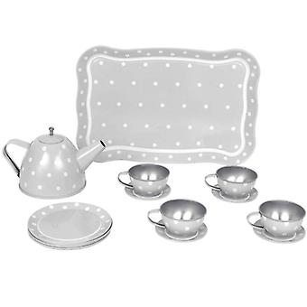 Jabadabado Tea Set With Bag Grey