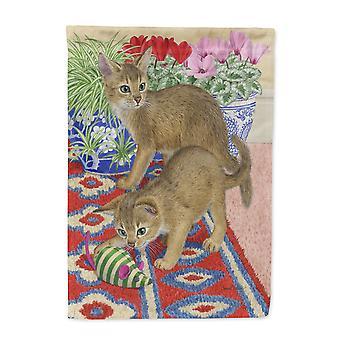 Carolines skatter ASA2164GF Abyssinian kattunge flagg hage størrelse