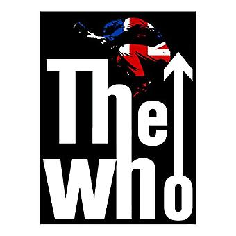 The Who Badge Leap Union Jack Classic Band Logo Official New Metal Lapel Pin