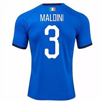 2018-19 Italia hjem skjorte (Maldini 3)