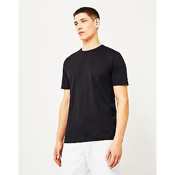 Sunspel Q82 kortærmet T-Shirt sort
