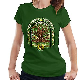 Deku Tree Legend Of Zelda Women's T-Shirt