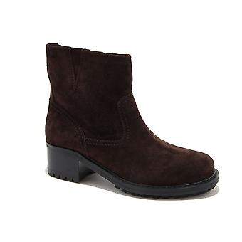 Car shoe women's KDT83I0B2F0003 brown suede ankle boots