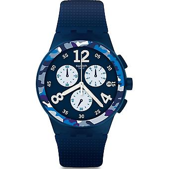 Swatch CAMOBLU Mens Watch SUSN414