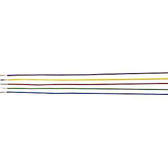 Strand H05V-K 1 x 1 mm² Yellow Helukabel 29121