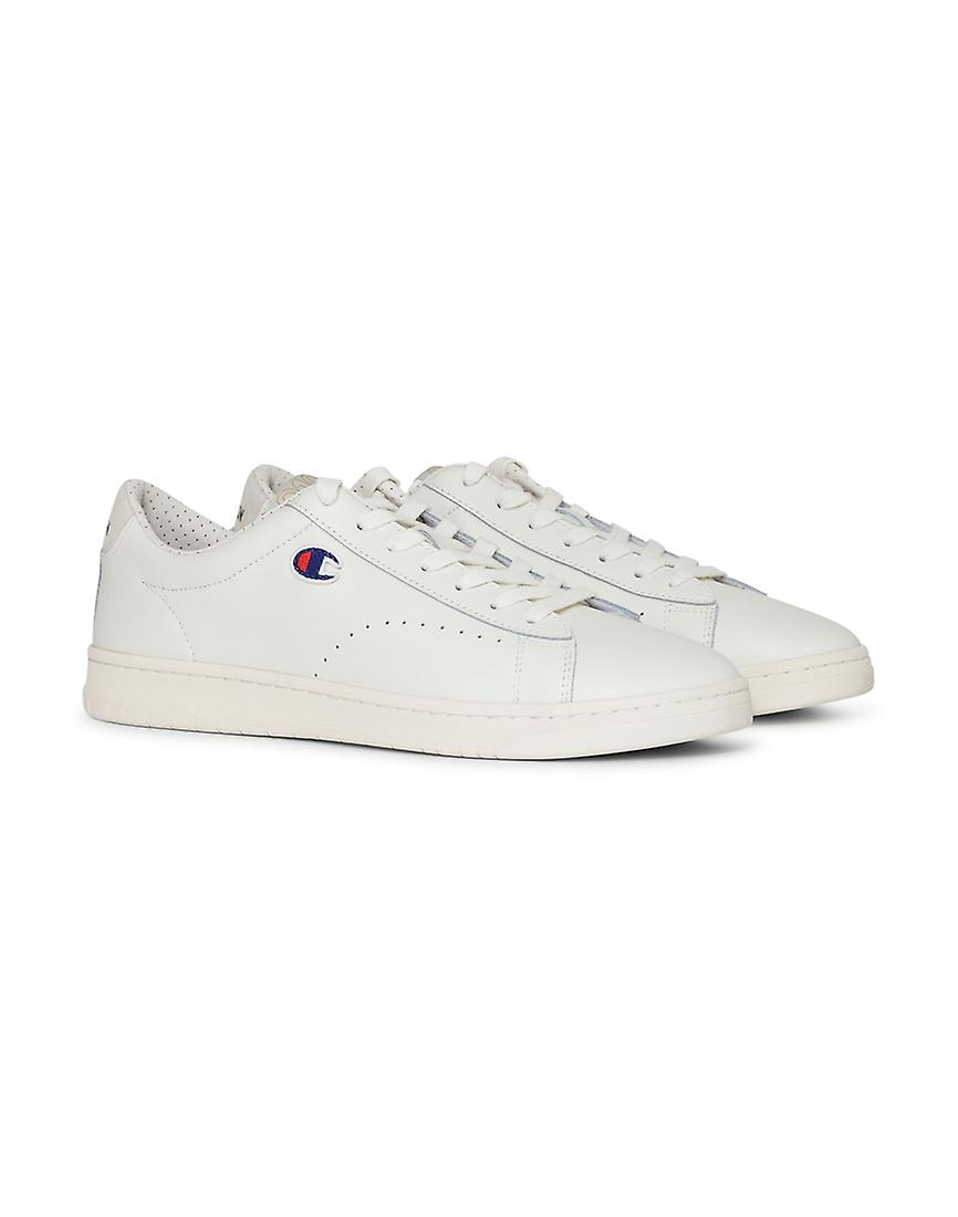 White 919 Patch Plimsolls Leather Champion Footwear qX5axAOwH