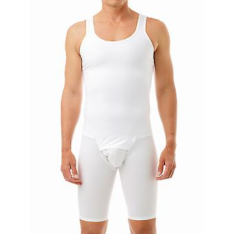 Underworks Men's Compression Bodysuit - No Zipper