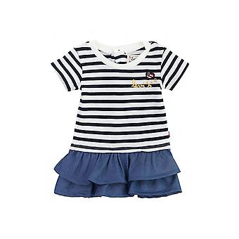 Levi's Kids Frilled Striped Top Denim Dress