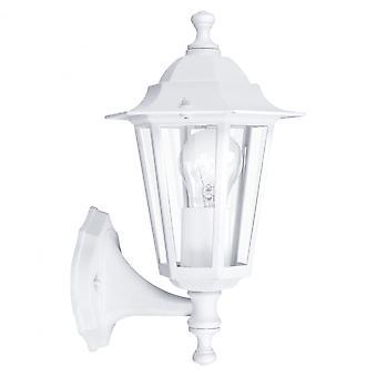 Eglo Lanterna5 1 Light Outdoor Wall Light White IP33
