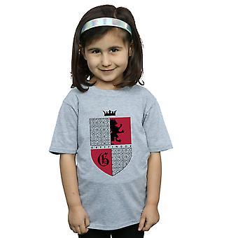 Harry Potter Gryffindor Schild-T-Shirt für Mädchen