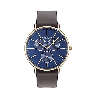 Kenneth Cole New York men's watch wristwatch leather KC14946005