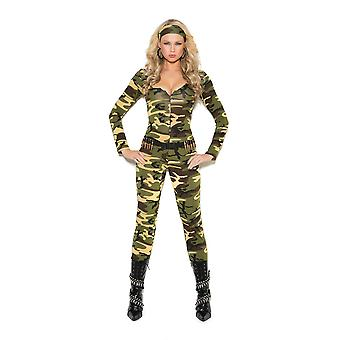 Elegant Moments Combat Warrior Military Army Girl Halloween Roleplay Costume