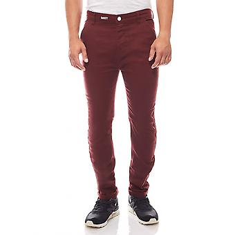 Sweet SKTBS Chino mens jeans rood de chinos Bordeaux