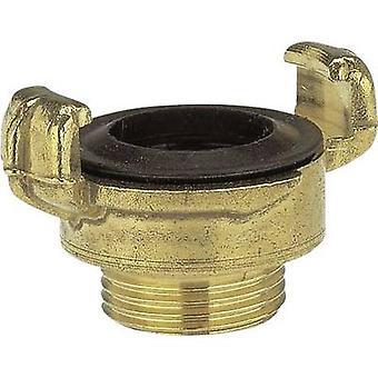 Brass Lock claw coupling - threaded piece Jaw coupler, 20.96 mm (1/2) OT