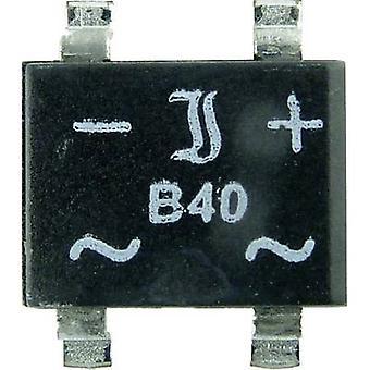 Diotec B40S-SLIM Diode bridge SO 4 SLIM 80 V 1 A 1-phase