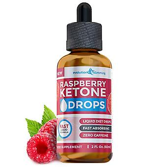 Raspberry Ketone Drops 60ml - 1 Bottle (60ml) - Weight Loss Drops - Evolution Slimming