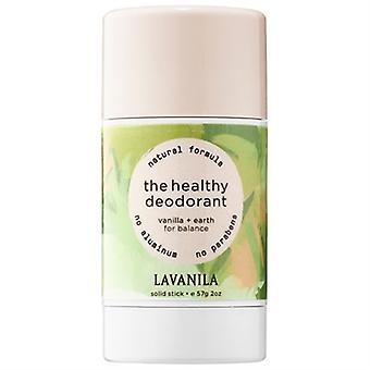 Lavanila The Healthy Deodorant Vanilla + Earth Solid Stick 2oz / 57g