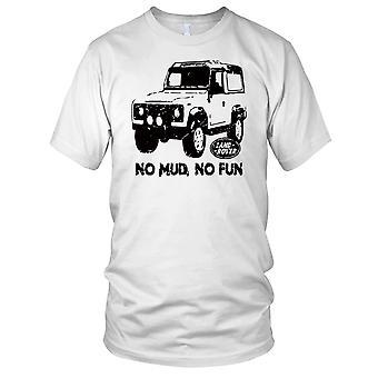 Landriver No Schlamm kein Spaß Offroad Auto Kinder T Shirt