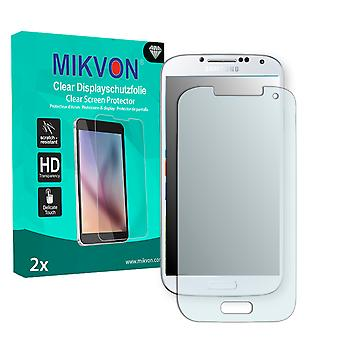 Samsung I9505 Galaxy S4 LTE Screen Protector - Mikvon Clear (Retail Package with accessories)