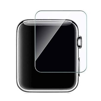 Stuff Certified ® 42mm Tempered Glass Clear Screen Protector for iWatch Series 1/2/3