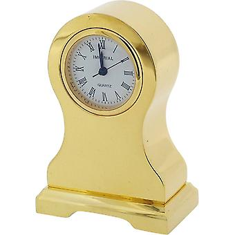 Gift Time Products Balloon Miniature Clock - Gold