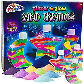Grafix Sand Art Glitter 'n' Glow