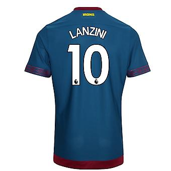 2018-2019 West Ham Away Football Shirt (Lanzini 10)