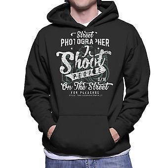 Street Photographer Men's Hooded Sweatshirt