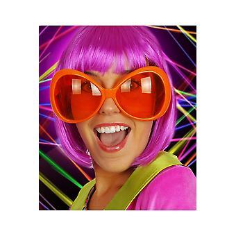 Glasögon Neon orange glasögon