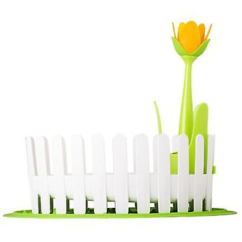 VIGAR Drain tableware and cutlery flower power with silicone tableware