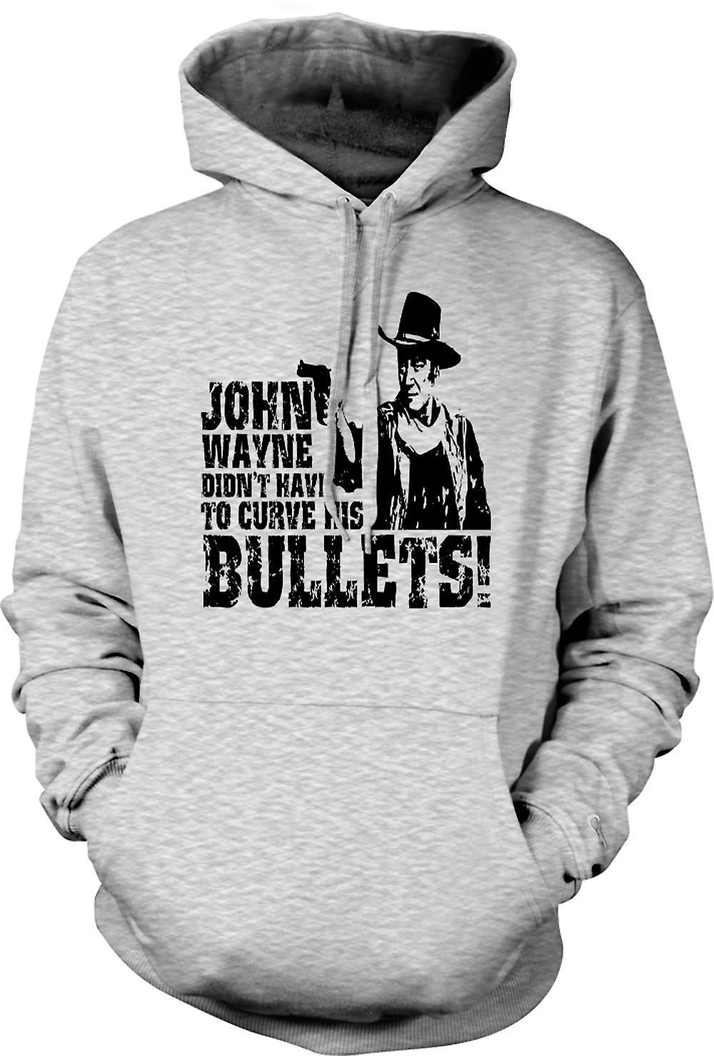 Mens hettegenser - John Wayne buet - Cowboy