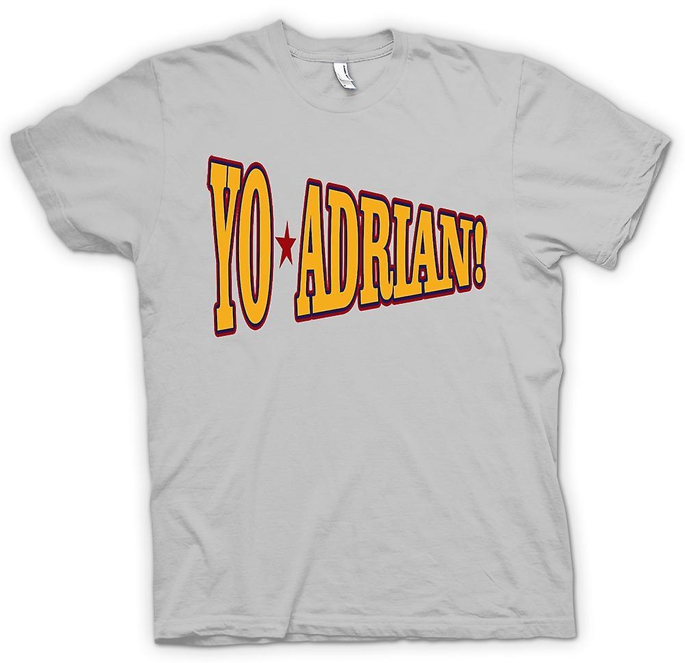 T-shirt des hommes - Rocky Balboa Yo Adrian - Drôle