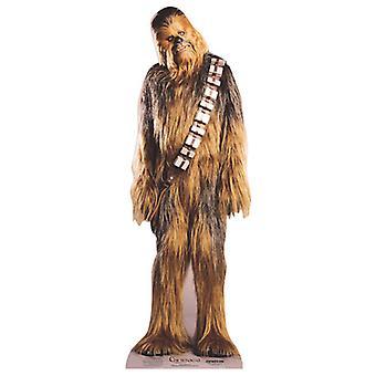 Chewbacca (Star Wars) - recorte de papelão Lifesize / cartaz