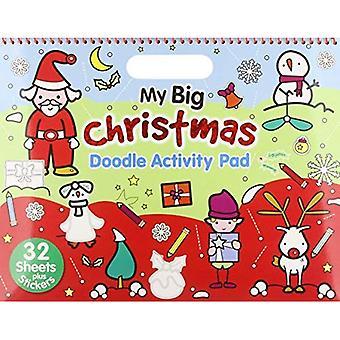 Christmas - My Big Christmas: Activity & Doodle Pad (Landscape Doodle Pad)