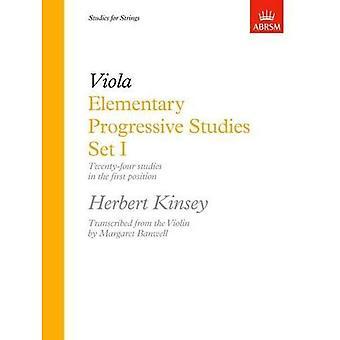 Elementary Progressive Studies, Set I: Viola Set 1 (Elementary Progressive Studies (ABRSM))