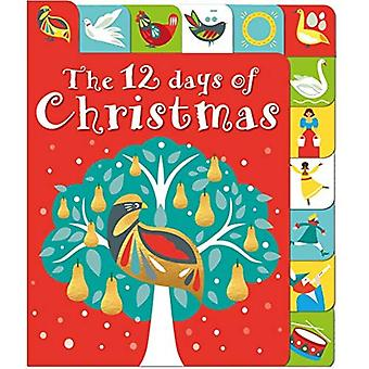 The 12 Days of Christmas: A Lift-The-Tab Book (Lift-The-Flap Tab Books) [Board book]
