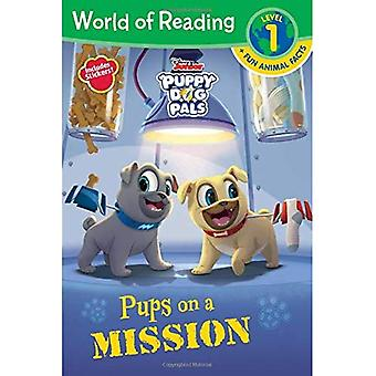 Puppy Dog Pals: Pups on a� Mission (World of Reading:� Level 1)