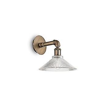 Ideal Lux - Astrid Brass Wall Light IDL140001
