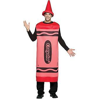 Red Pencil Crayola Adult Costume