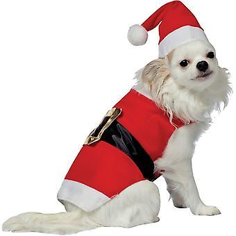 Санта Pet костюм