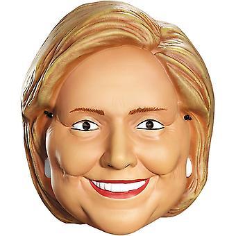 Hillary Clinton 1/2 maschera per adulti